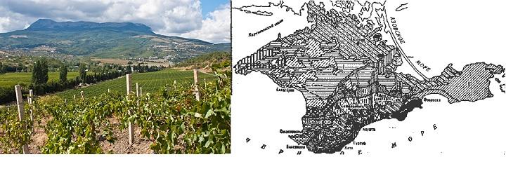 Карта виноградарства