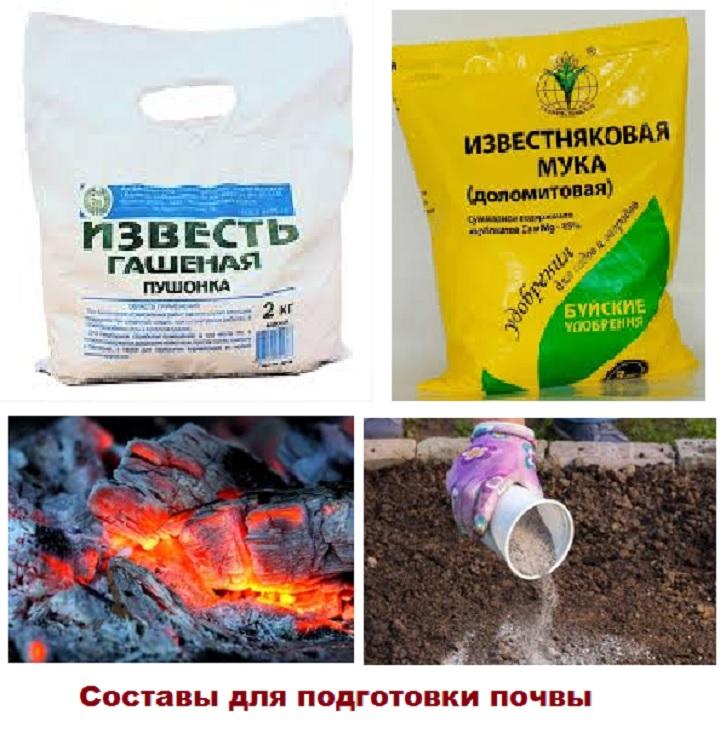 Изменение кислотности почвы. Составы