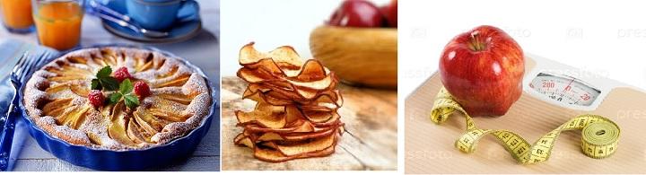 Яблочный пирог, яблочная диета