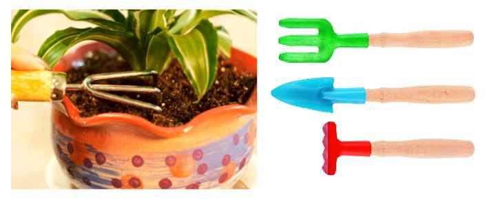 Инструменты для рыхления цветов