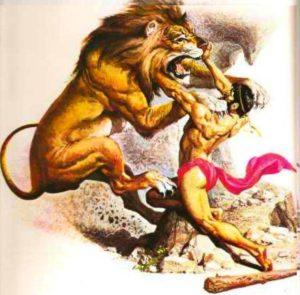 Геракл и лев