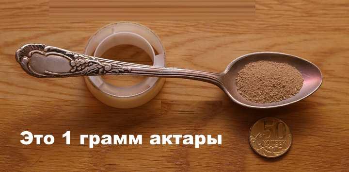 1 грамм актары