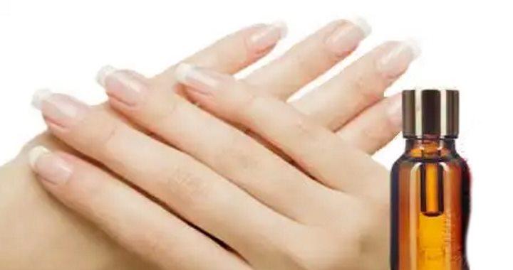 Ногти после ухода маслом примулы