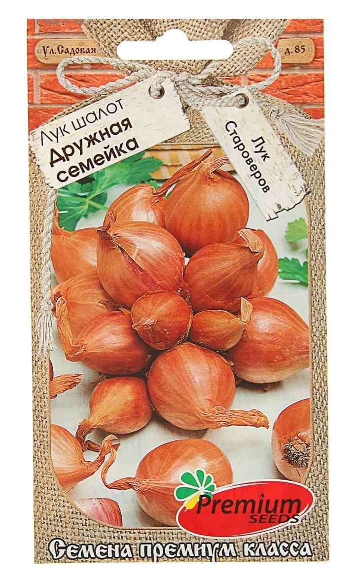 Пакет семян лука-шалот