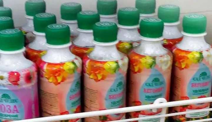 Бутылки с удобрениями для пасленовых