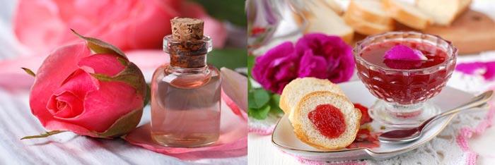 Варень и духи из лепестков роз