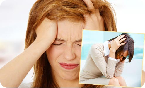 Нервные растройства и головные боли