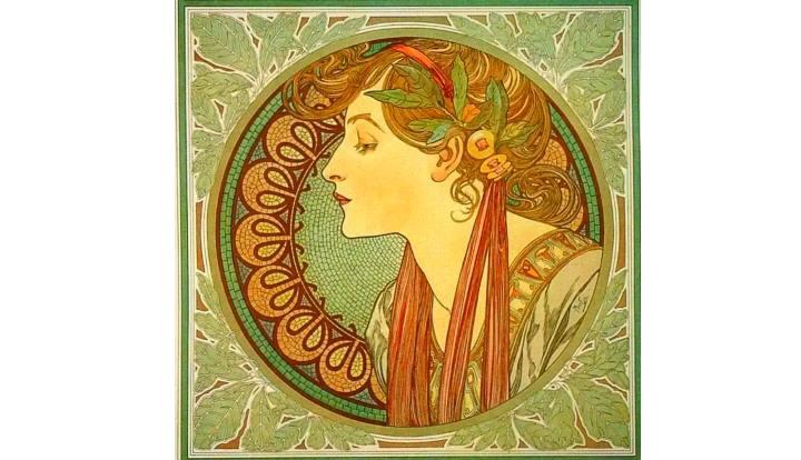 Картина с изображением лавра благородного