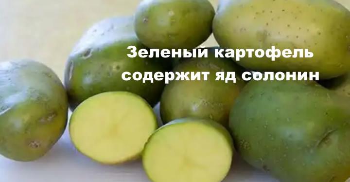 Ядовитое составляющее картофеля
