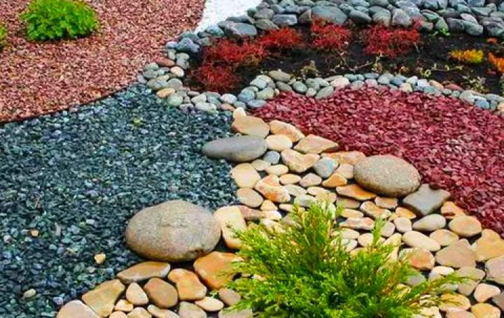Камни для мульчи