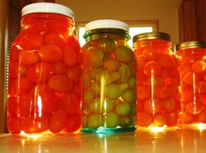Солим сладкие помидоры