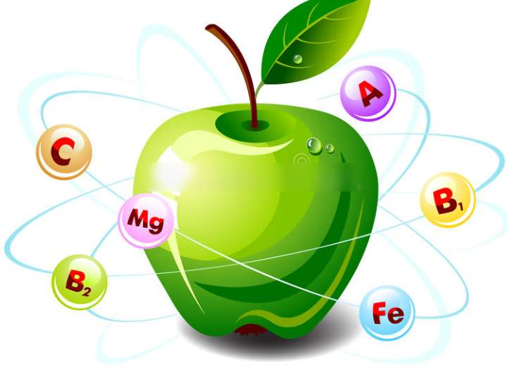 Витамины яблока