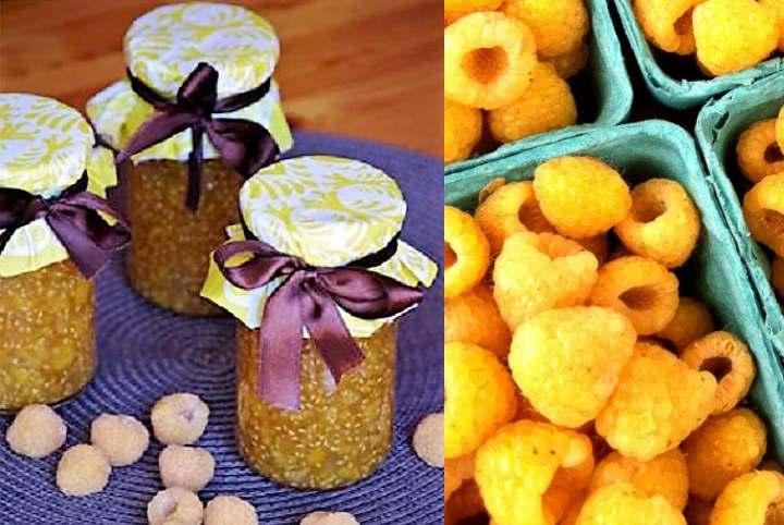 Варенье из желтой малины