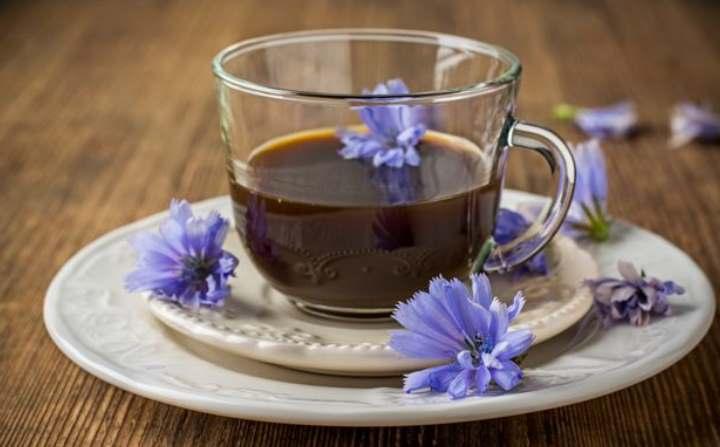 Чашка из кофе цикория