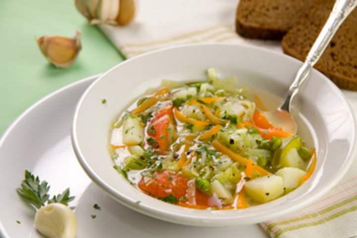 Суп из сельдерея в корне