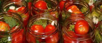 Открытые банки с помидорами
