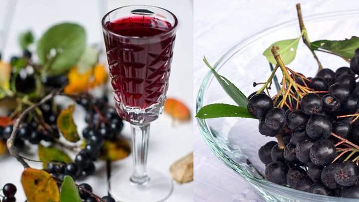 Черноплодка на спирту