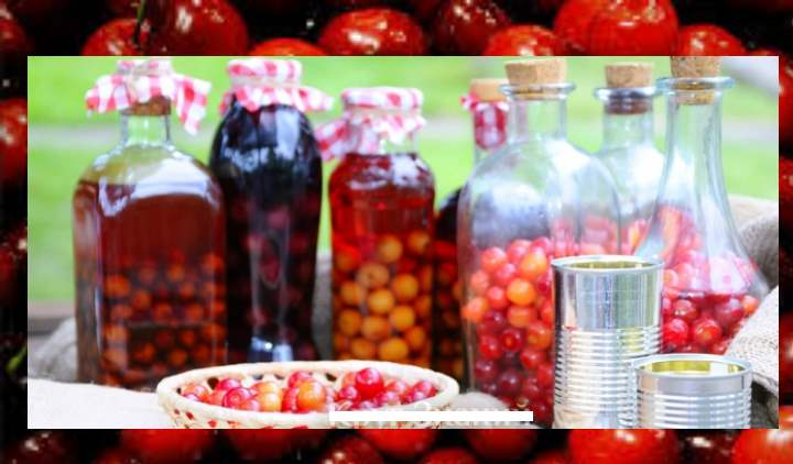Плоды вишни содержат сахар, белки, пектины, витамины различных групп