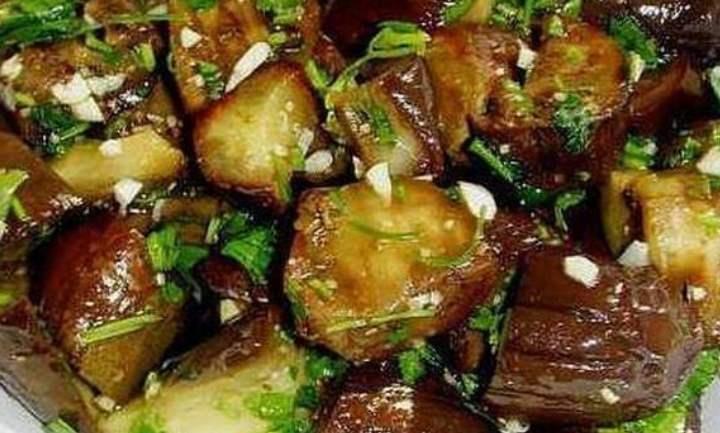 Блюдо из баклажан