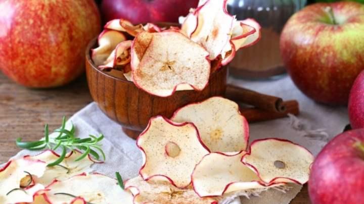 Сушка красных яблок