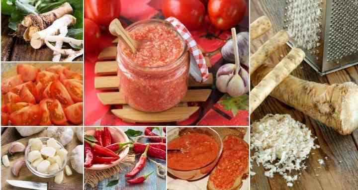 Популярный рецепт хреновины из помидор