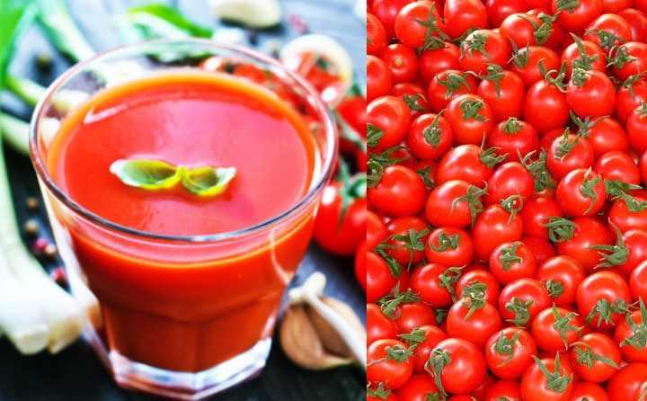 сок из томатной пасты