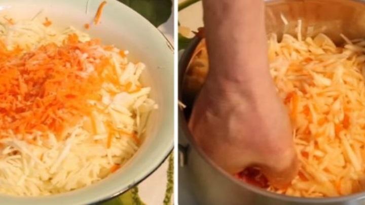 Классические рецепты вкусной квашеной капусты - с рассолом и без +Видео