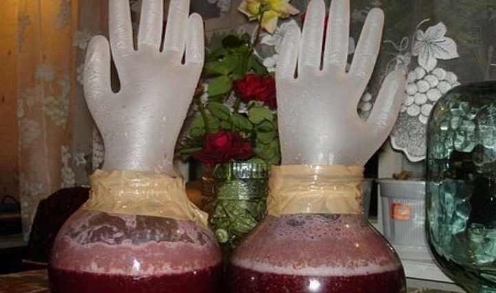 Рецепт вина с дрожжами