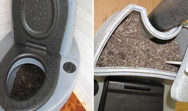 Торфяной туалет интересен не только тем, что отходы отправляются в компост