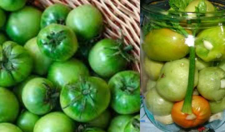 Фаршированные помидоры с чесноком и зеленью