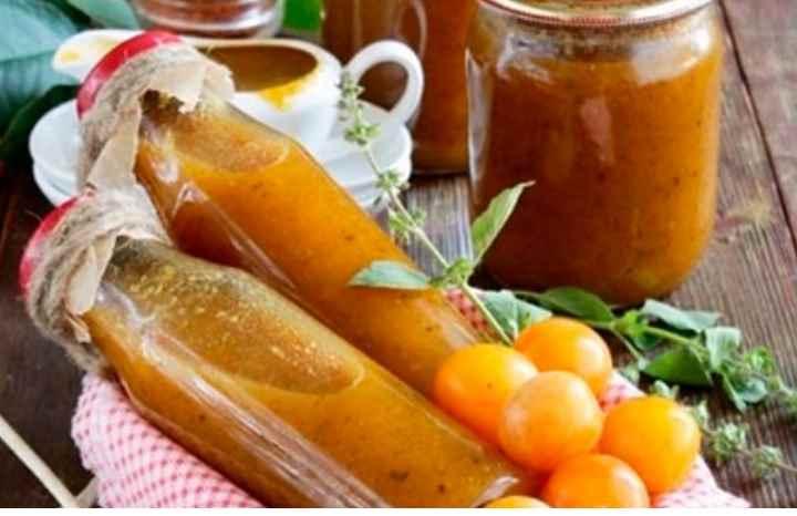 Соус способствует улучшению работы пищеварительного тракта;