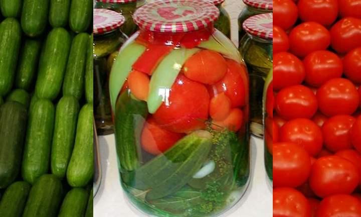 Один килограмм красных или зеленых томатов;