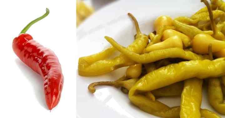 Горький перец зеленый